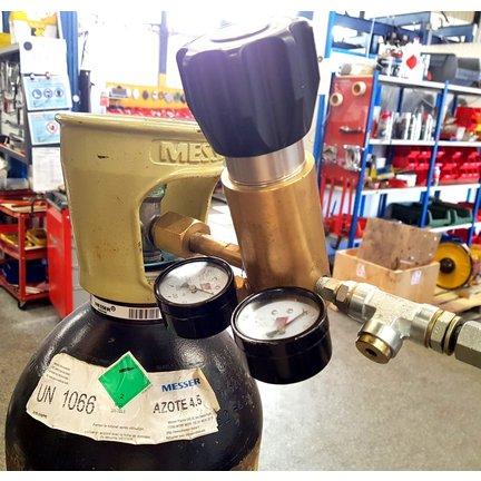 Sevice gonflage azote accumulateur  de moins de 3 litres