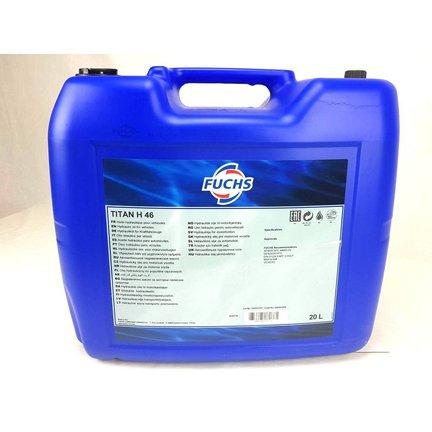 Bidon d'huile hydraulique ISO VG 46 20L  1