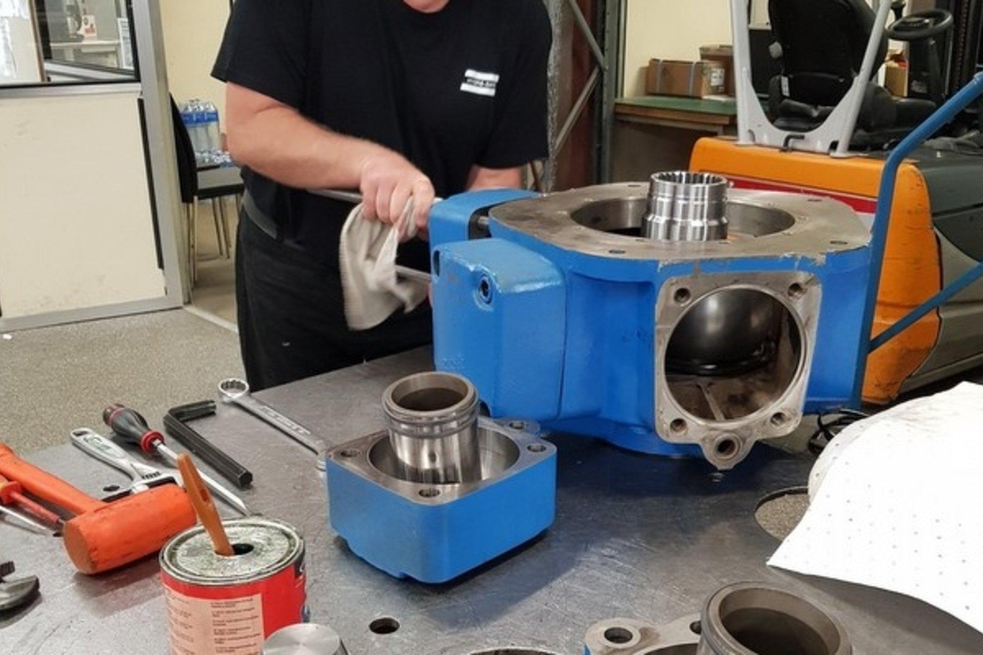 Réparation moteurs hydrauliques